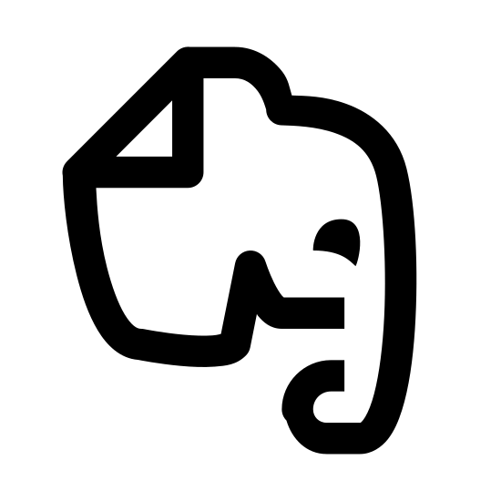 Иконка evernote - скачать бесплатно в PNG и векторе fd10c20a97d