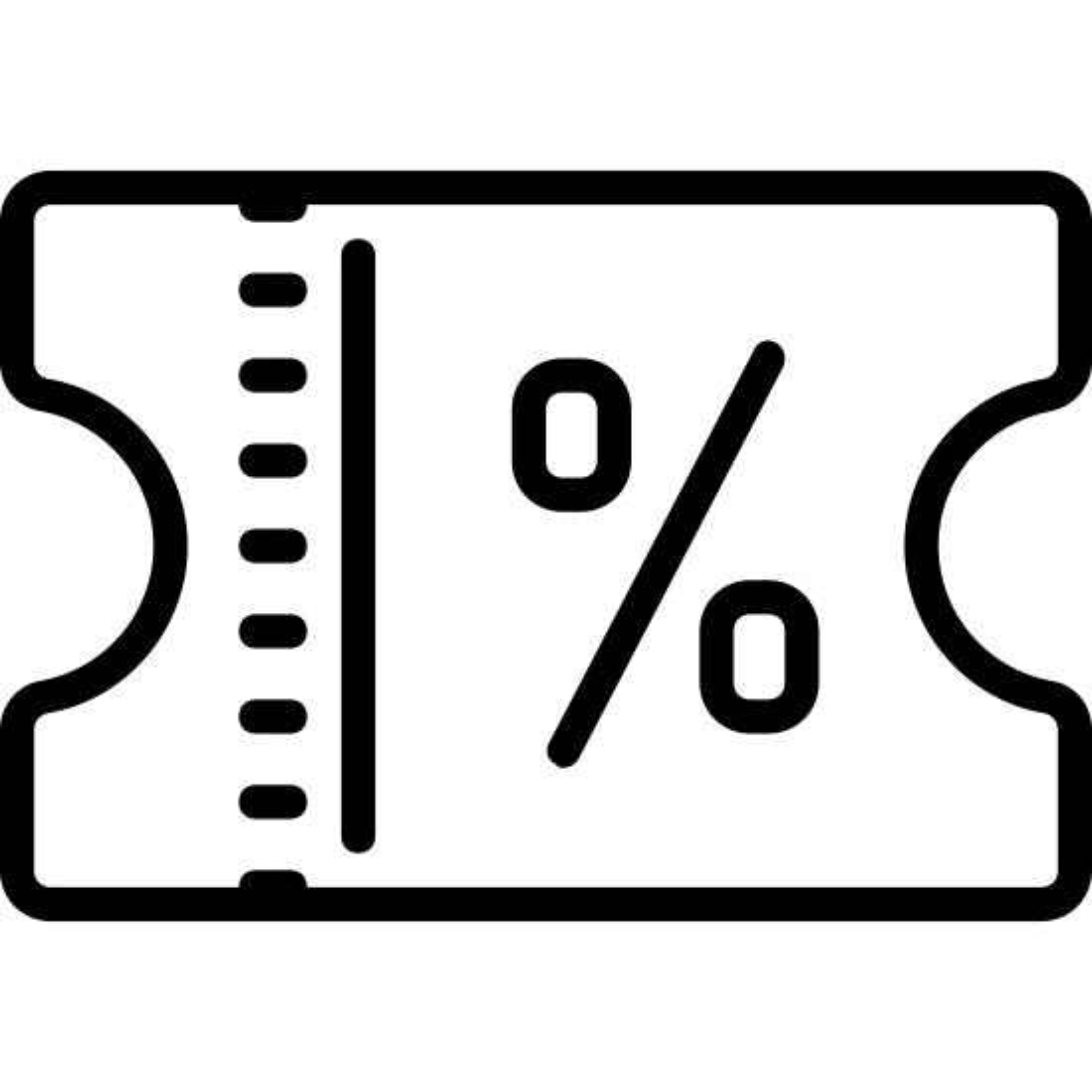 Bilet rabatowy icon